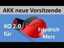 AKK siegt Merz erneut von Merkel ausgeknockt