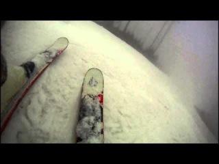 Tatranska Lomnica, foggy skiing, vol 1