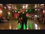 Impresionante habilidades en el tango danza. Cristian Zalazar, Analia Alfaro en El Recreo Milonga