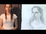 Рисунок Карандашом Как Рисовать Портрет Девушки How To Draw A Girl