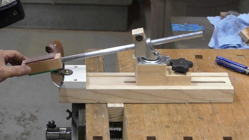 Make a knife sharpening jig/칼 가는 지그만들기