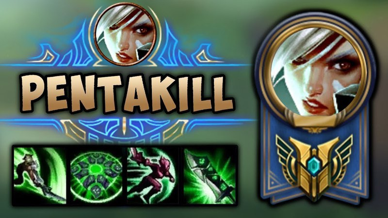 Perfect Riven Pentakill Compilation | League of Legends