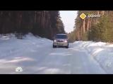 Как правильно ездить по снежной колее.