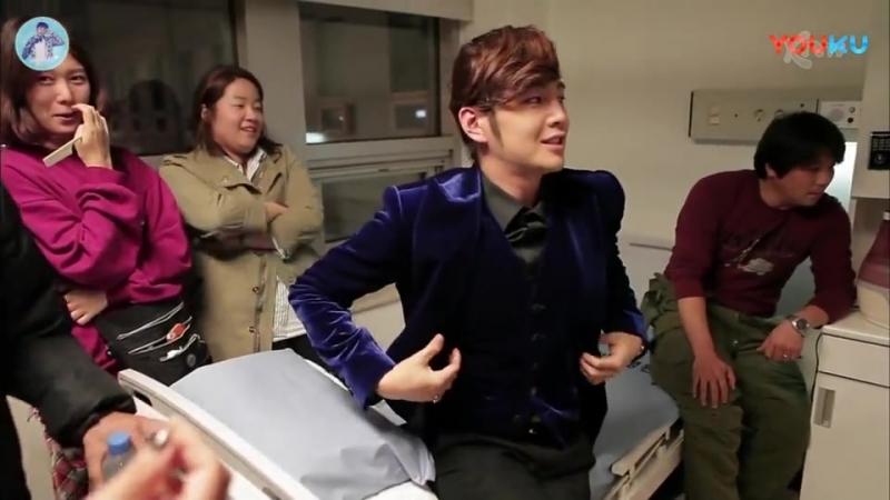 Чанг Гын Сок на съёмках первых серий в дораме «Beautiful Man» - HD - 8