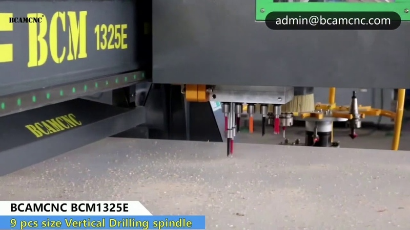 Full automatically furniture cabinet making cnc router with loading unloading