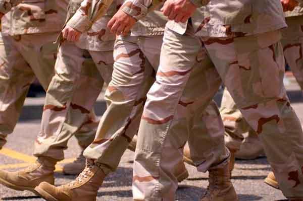 Артрит в армии