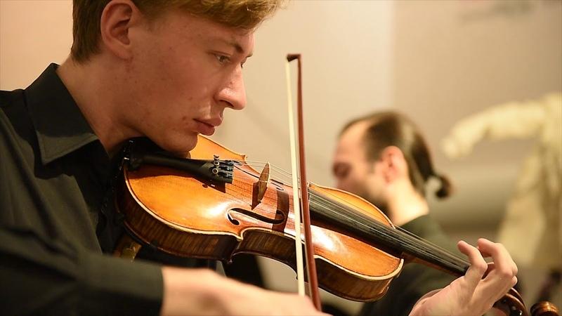 Алексей Логунов - Адажио для скрипки и струнного оркестра, дирижёр Алексей Верховен