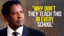 Denzel Washington's Speech Will Leave You SPEECHLESS - One of the Most Eye Opening Speeches Ever