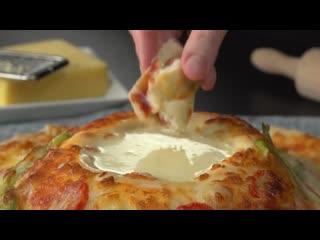 Вот как нужно класть тесто на противень...