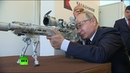 Путин пострелял из снайперской винтовки в парке «Патриот»