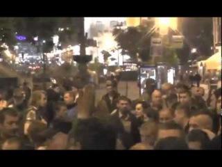 Киев-Сейчас: Самооборона майдана против