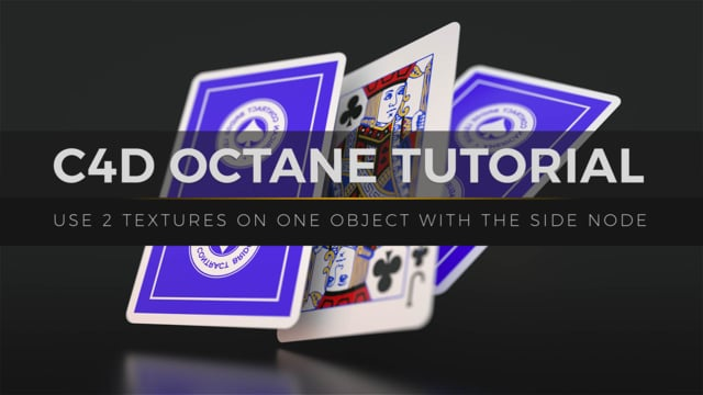 C4D Octane Tutorial: How to Add Multiple Materials to One Object with the Side Node