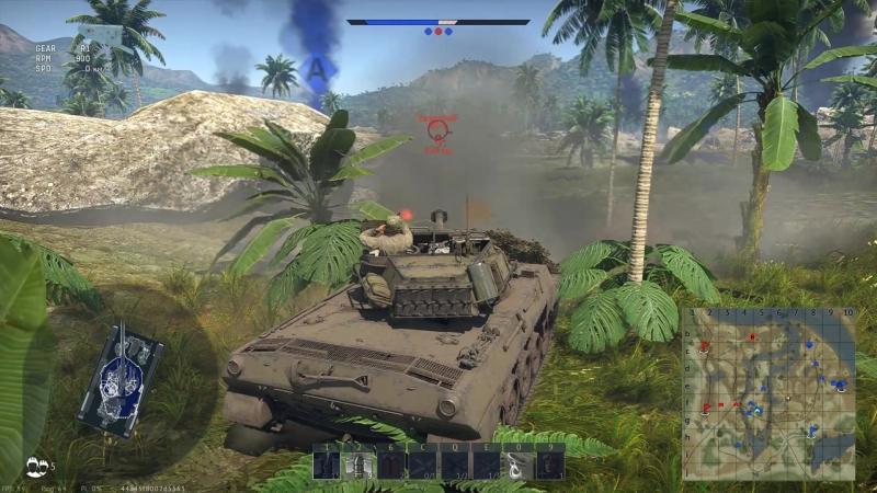 War Thunder 2018 04 02 Ki 61 Kamikazze vs ZIS 43