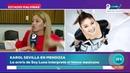 Karol Sevilla para entrevista canal 9 Mendoza