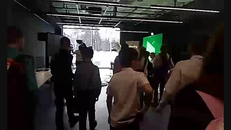Студия тин-ТВ павильоне Арт-техноград