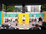 181009 Dreamnote - Red Velvet 'Power Up' @ Hyehwa Street Busking