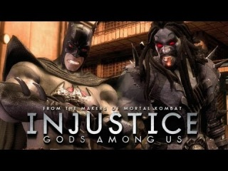 Injustice: Gods Among Us - Batman Flashpoint vs Lobo Gameplay [1080p] TRUE-HD QUALITY