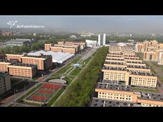 Воздушная съемка г. Казань в преддверии Универсиады (1280х720)
