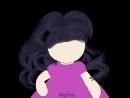 Monne. Рисую волосы