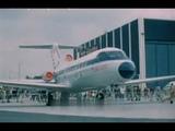 ЯК-40 в ФРГ 1975