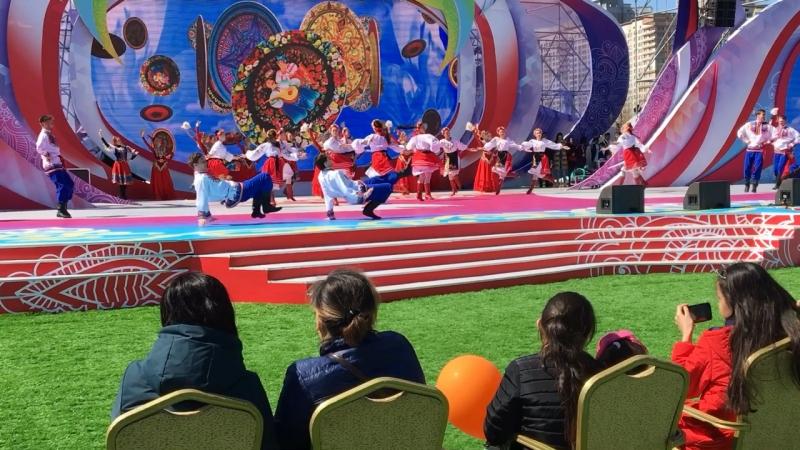 Генеральная репетиция к 1 мая в г.Астана