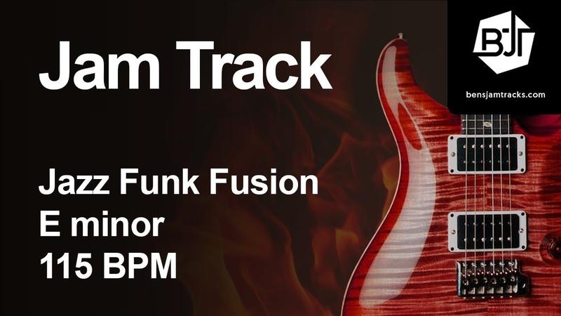Jazz Funk Fusion Jam Track in E minor 115 BPM