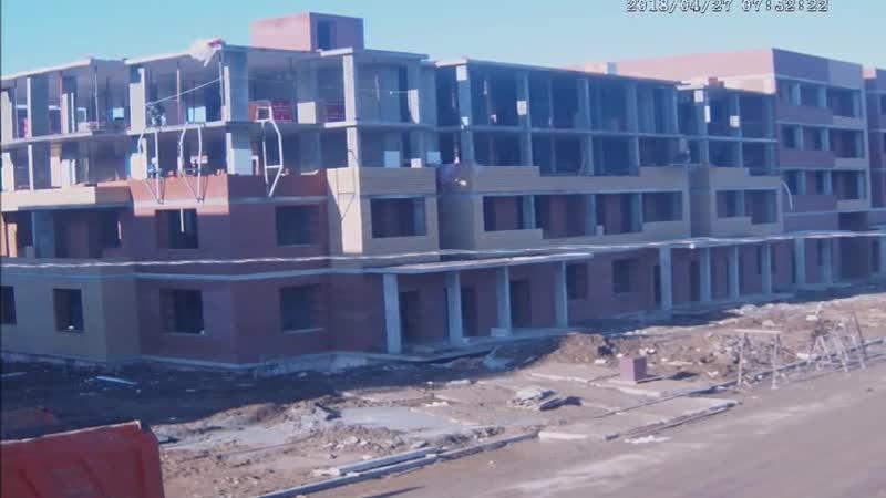 Утренний видео-обзор по строительству ЖК Малая Истра за 27 апреля 2017г