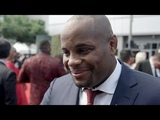 Daniel Cormier responds to Brock Lesnar on the 2018 ESPYS red carpet