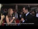 Интервью с церемонии телевизионной премии BAFTA в 2011 году [RUS SUB]