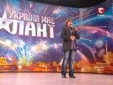 Никита Киселев Marija Serifovic - Molitva Украна ма талант - 2 Кастинг в Одессе