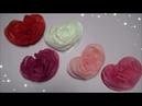 ペーパーポンポン 簡単!かわいいハートの作り方  DIY Paper Ponpon Easy heart