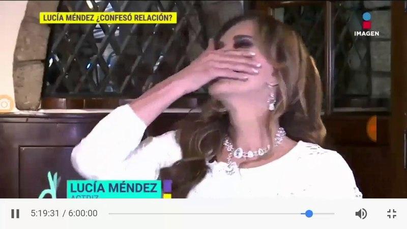 Las declaraciones de Lucía Méndez Roberto Palazuelos