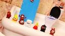 Смешное видео для детей - Побег из бачка! - Игрушки из мультика Пупиз Poopez.