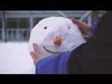 Новый год в «Енисее». Лепим снеговика