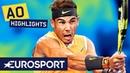 Rafael Nadal vs Alex de Minaur Highlights Australian Open 2019 Round 3 Eurosport
