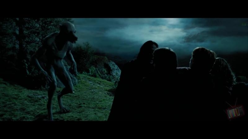 Превращение Римусса в оборотня Гарри Поттер и узник Азкабана 2004 Момент из фильма