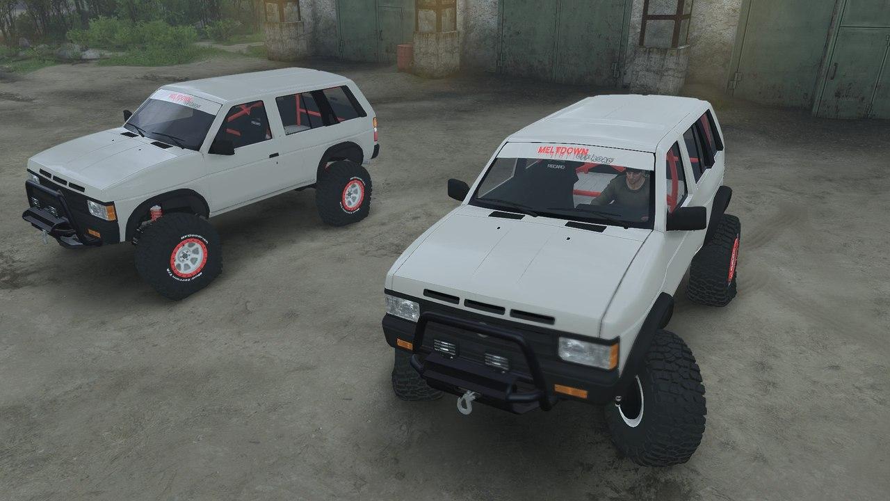 Nissan Pathfinder для 25.12.15 для Spintires - Скриншот 1