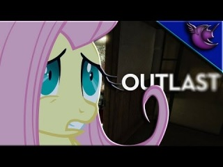 Fluttershy Plays Outlast - Gaming With The Ponies