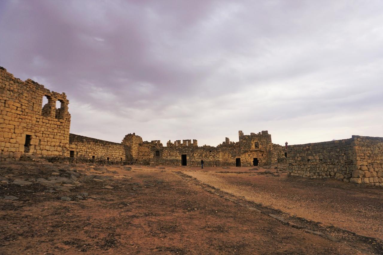 Пустынная цитадель Азрак