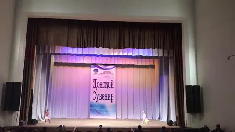 Группа Дошколят- танец Шалунишки на конкурсе Донской Сувенир в ДК Сельмаш