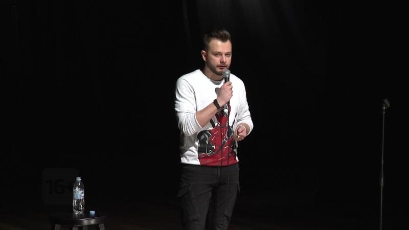 Денис Ушаков, анонс Большого Stand Up Мурманск на ТВ-21
