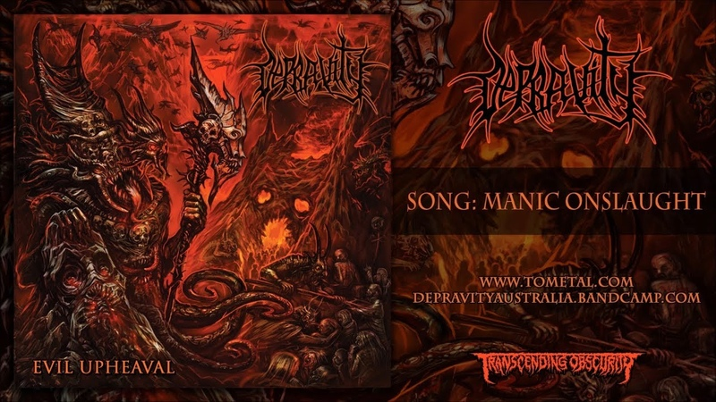 DEPRAVITY - MANIC ONSLAUGHT [SINGLE] (2018) SW EXCLUSIVE