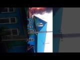 Новости  ПЕРМЬ пожар в заостровка 26 августа 2017