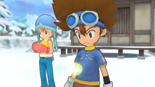 Два видеоролика геймплея Digimon Adventure для PSP