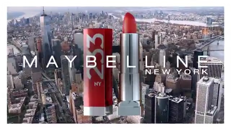 Josephine Skriver for Maybelline New York.