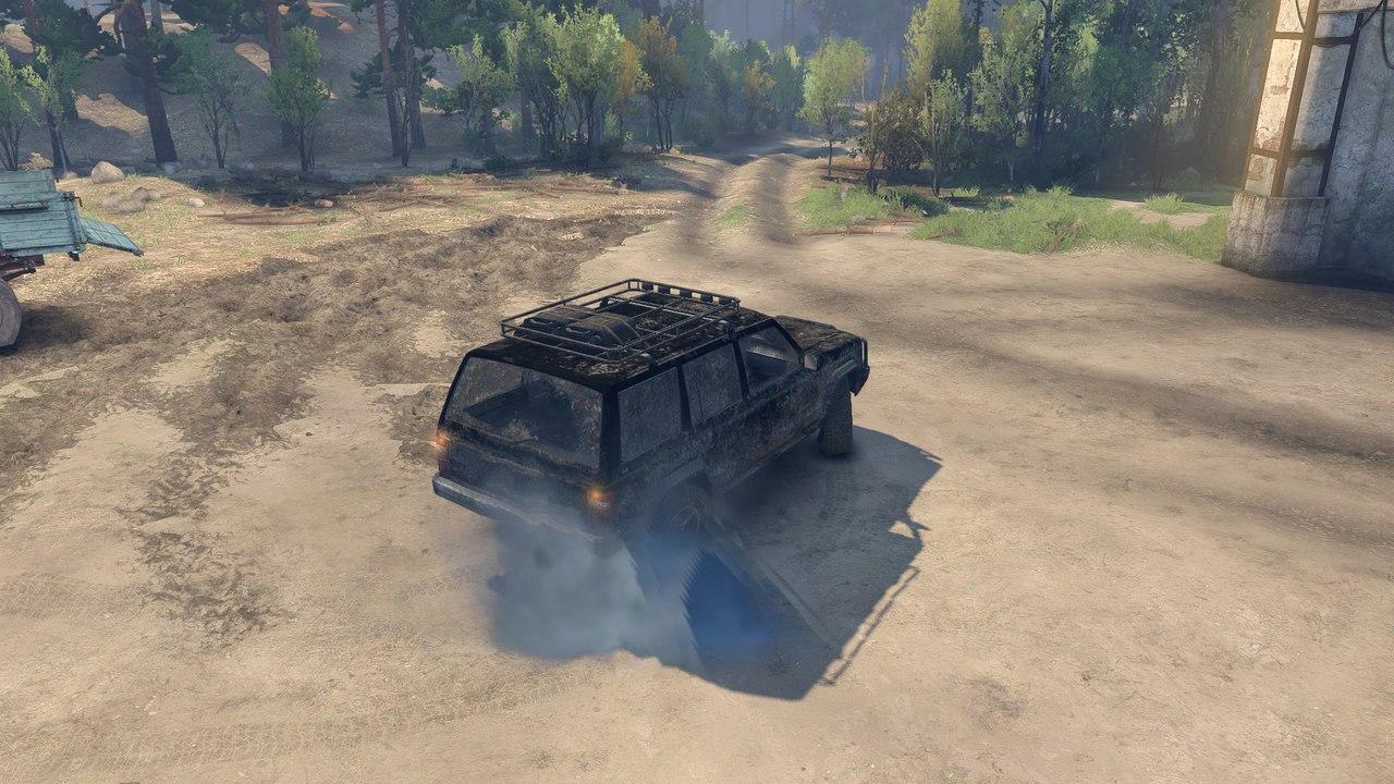 JEEP Cherokee для Spintires - Скриншот 3