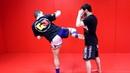 Мидл Кик или Боковой Удар в Корпус Кикбоксинг Тайский бокс