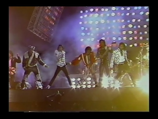 Michael Jackson and The Jacksons - Victory Tour 1984 live in Toronto