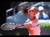 2014 Madrid Agnieszka Radwanska vs Svetlana Kuznetsova [FULL HD]