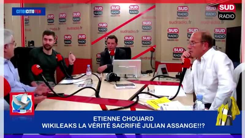 """Etienne Chouard Wikileaks, La Vérité Sacrifiée """"Julian Assange"""""""